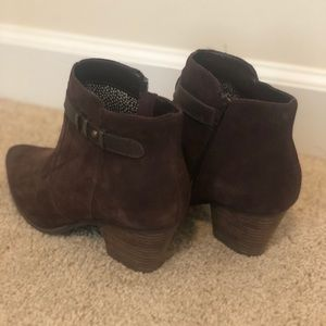Seychelles Maroon Ankle Boot